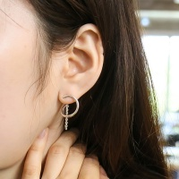 i_e67 - ring ??twist chain earring