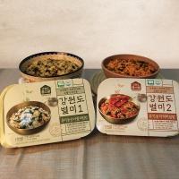 강원도 유기농 산나물비빔밥210g+더덕비빔밥210g