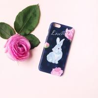 Rabbit says Navy for Phonecase [플래네틸]