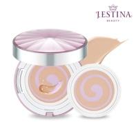J.ESTINA 핑크빛 생기 넘치는 광채쿠션 본품+리필