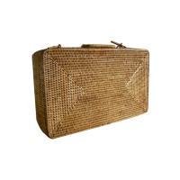 미얀마 라탄 여행가방/여행보조가방 여행용가방 짐가방 사각캐리어