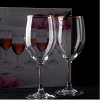 커플 골드 보르도 와인잔 1개