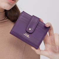 (탄생석지갑) Fiore Half Wallet - Purple