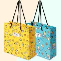 포포팬시 룰루랄라 와글와글 종이 쇼핑백