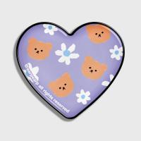 Dot flower bear-purple(hearttoktok)