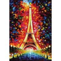 1000조각 목재 직소퍼즐▶ 에펠탑 페인팅 [WPK1000-25]