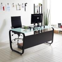 스틸뷰 1500책상 둥근프레임 테이블