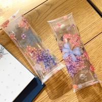 문쓰프렌즈 투명 펜슬파우치 2종