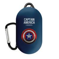 마블 히어로심볼 갤럭시 버즈 케이스 캡틴아메리카