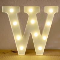 LED 앵두전구 조명등 알파벳 W