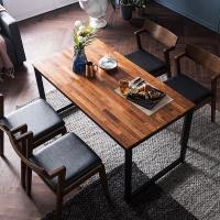 [채우리] 루킹 멀바우원목 4인식탁세트(의자)