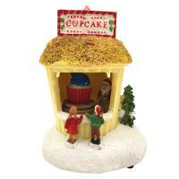 [adico]크리스마스 미니어처 빌리지 - 컵케익