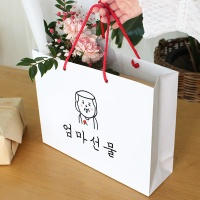 엄마 아빠 선물 쇼핑백