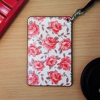 Vintage card case (Ivory Flower)