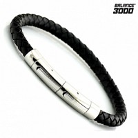 [Balance3000] 발란스3000 헤르메스 게르마늄 팔찌-블랙