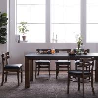 [채우리] 로쉬 화산석 6인식탁세트(의자)