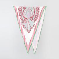 Silk Paisley Diamond Scarf