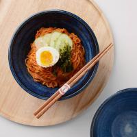 일본식기 카와리 삼각 면기