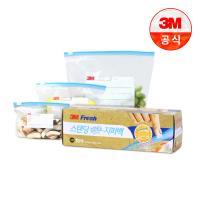 [3M]스탠딩 슬라이드 지퍼백(소) 15매