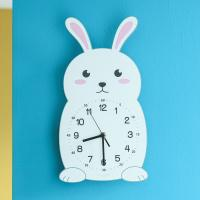 오리엔트 OT878RABBIT 무소음 토끼 교육용벽시계