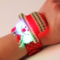 LED점등 눈사람인형 팔찌 (10개한팩)