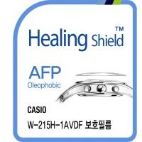 카시오 W-215H-1AVDF 올레포빅 시계액정보호필름 2매