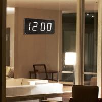 루나리스 FM수신 빅타임 LED 전자 대형벽시계 JS-i40