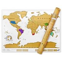 [원더스토어] 럭키스 스크래치 맵 세계지도 Scratch Map