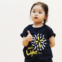 The Word 교회단체티셔츠_  Light(아동용)