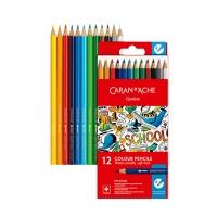 까렌다쉬 스쿨라인 수채색연필 12색 지관 1290.712