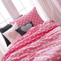 [winter item] 극세사 침구 - 핑크버블 퀸 풀세트
