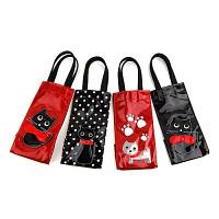 검은고양이 다용도 접이식 우산가방