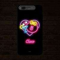 iPhone7 Plus LINE FRIENDS NEON CHOCO