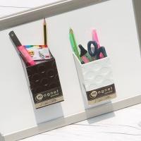 자석이 부착되어 냉장고,화이트보드에도..나카바야시 마크네틱 펜꽂이 HF511
