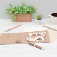 [Nakabayash] 사진과 메세지를 보내는 포토카드..나카바야시 카드앨범+봉투(대)) Simplaft 3개/팩 HF425
