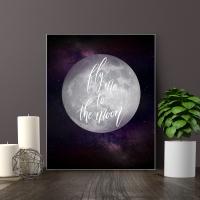 보노 액자 테이블 M 달