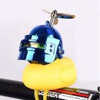 러버덕 날개 헬멧 프로펠러 자전거라이트 벨 WC27블루