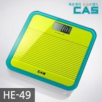 카스(CAS) 프리미엄 글라스 디지털 체중계 HE-49-YE