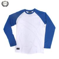 [THE BERRICS] RIFF RAGLAN KNIT L/S (Athletic Blue)