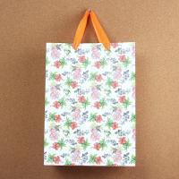 (와인앤쿡)비비드 flower 쇼핑백1개(디자인랜덤)