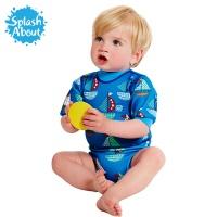 [스플래시어바웃] 해피내피웨트슈트 (셋새일). 수영기저귀 일체형 아기수영복