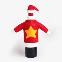 [인디고샵] 크리스마스 스타 와인 데코