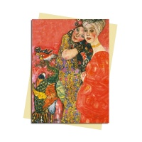 그리팅카드 Klimt-Woman Friends