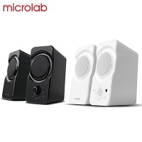 Microlab 2채널 스피커 B-17 (USB전원 / 6W / 스마트폰 & MP3 등 외부입력 AUX 단자 / 헤드폰 단자)