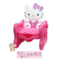 [무료배송][KUMBO]핑크포티 의자 변기