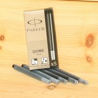 [PARKER] 1팩 5개입...파카 만년필 잉크 카트리지-스탠다드 Black