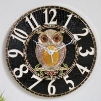(kjco046)저소음 샤론부엉이 400벽시계 (G)