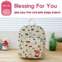 [ 블레싱포유 ] 베이비 보온 보냉 백팩 (미아방지 가방)