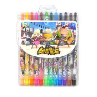 스낵월드 12색 색연필