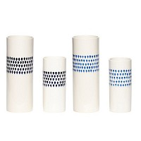 [Hubsch]Vase w/pattern set of 2 화병